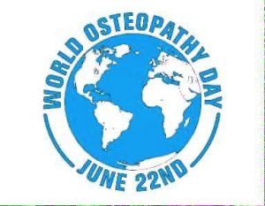 A logo for World Osteopathy Day