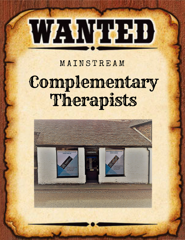 A Wanted poster with an image of the shop front on.