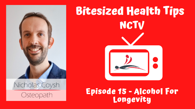 A YouTube front image thumbnail for NCTV with a picture of a TV and Nicholas Coysh's logo inside and the title of the episode.