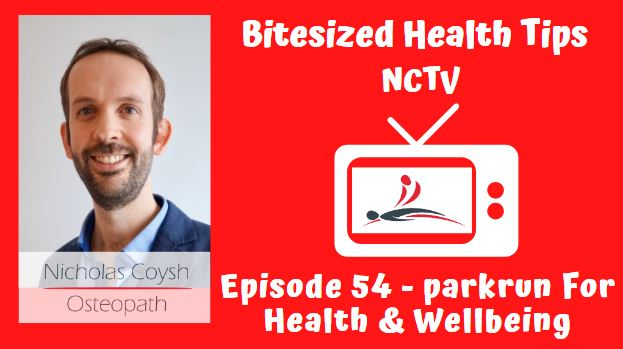 A video thumbnail image of a TV with Nicholas Coysh's logo inside and the title below.