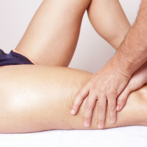 Osteopathic treatment for thigh pain